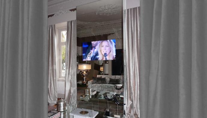 adnotam mirror image telewizory w szkle